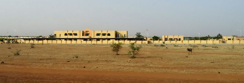 This vast new public hospital in the desert north of Oagadougou was designed to serve the rural population, but for many, the cost puts these services out of reach.